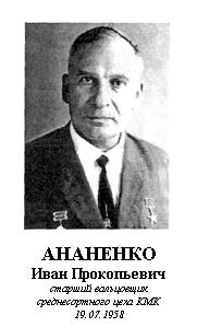 АНАНЕНКО ИВАН ПРОКОПЬЕВИЧ (1921)