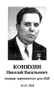 КОНЯХИН НИКОЛАЙ ВАСИЛЬЕВИЧ (1925)