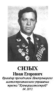 СИЗЫХ ИВАН ЕГОРОВИЧ (1925)