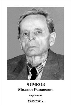 Михаил Романович Чичков